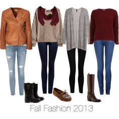 """""""Fall Fashion 2013"""" on Polyvore  Pretty sure my store will look like this!"""