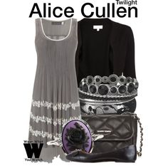 I am not a twilight fan, but I must admit, the Cullen girls in those movies do have fantastic clothes.