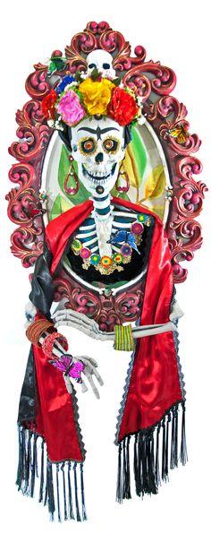 Katherine/'s Collection Beaded Skeleton Skull Purse Halloween NEW