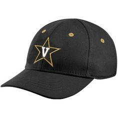 premium selection 4fee0 d9295 Top of the World Vanderbilt Commodores Infant Black Lil  Fan 1-Fit Hat