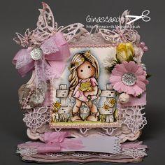 Gina's Cards: New Challenge Marvelous Magnolia - Summer Loving Tilda