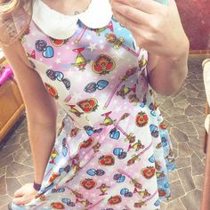 Just. So. Perfect. // Sailor Moon Locket Dress