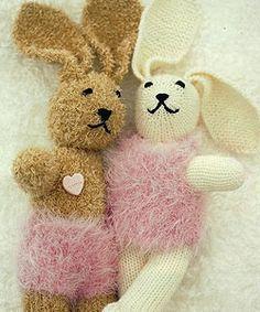 Hasen zum Stricken und Kuscheln (german rabbit knitting pattern)