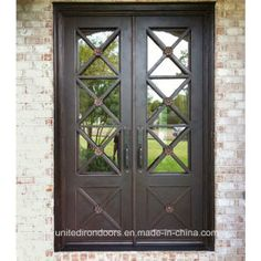 Iron Doors Photo Gallery Displays An Array Of Beautiful and Affordable Iron Doors. Affordable Iron Doors Only Carries The Highest Quality Doors And Prices That Can't Be Beat! Discount Interior Doors, Interior Barn Doors, Exterior Doors, Entry Doors, Patio Doors, Garage Doors, Wrought Iron Security Doors, Wrought Iron Doors, Iron Front Door