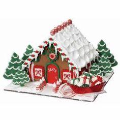 Santa Calls It Home Gingerbread Hoose So cute gonna make a santa gingy boy tho.