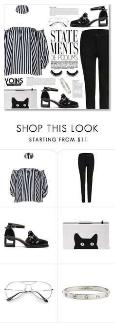 """""""yoins 82"""" by myduza-and-koteczka ❤ liked on Polyvore featuring Cartier and Anja"""