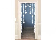 Rideau de porte décoratif - Mariage Avenue