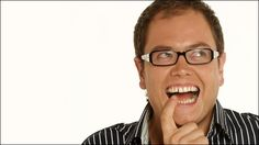 I absolutely love Alan Carr, he has no filter and is just so bubbly! Would love to have a conversation with the Chatty Man