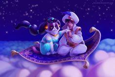 Aladdin grumpycat