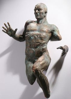 Matteo Pugliese since I saw his artwork at Art Zurich 2012 I'm deeply impressed by his extra moenia sculptures.
