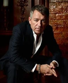 Sean Pertwee as Alfred Pennyworth.  He makes tea and kicks ass.  And he's out of tea....  (Gotham)