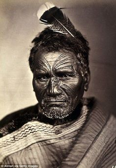 How traditional Maori face tattoos called Moko describe without words