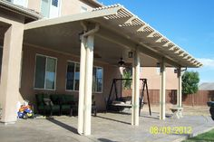 Aluminum Patio Covers - DIY or Installed