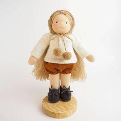 Custom order for Fred - waldorf doll, cloth doll, ballerina doll
