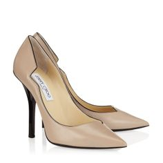 Jimmy Choo - Mill - 133millkid - Frappe Kid Leather Pointy Toe Pumps