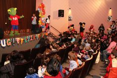 Festejo del Día del niño en el Teatro Osvaldo Miranda