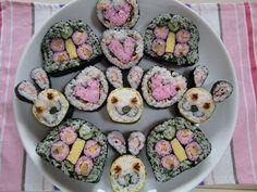 Easter Sushi   Ahhhh Easter sushi~!