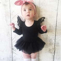 >> Click to Buy << Kid Girls Spring Infant Toddler Long Sleeves Jumpsuit Solid Tulle Skirt Baby Bodysuit Clothes #Affiliate