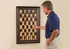 Vertical chess. Great for old-school long distance play. And a fun display, too.