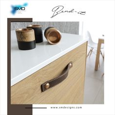 Bend-it Unique, Not Ordinary #handlesandmuchmore #SMD #handle #knob #profile_handle #finish #effect #collection #Ideas #stylish #style #solution #furniture #Innovative #home #interior #design #designer #trendy #luxury #unique #leather