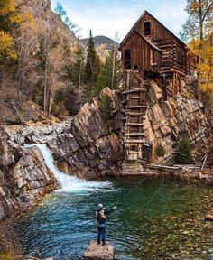 Crystal Mills, Colorado. Absolutely amazing. A great spot for fly fishing