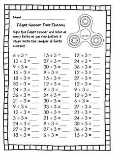 Multiplication Facts, Math Facts, Persuasive Letter, Math Night, Math Intervention, 2nd Grade Math, Third Grade, Math Centers, Fidget Spinners