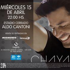 Chayanne en Concierto este 15 de Abril en San Juan, Argentina – Chayanne Tour 2015
