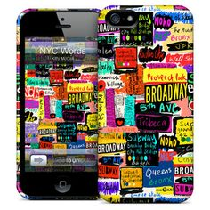 NYC Words iPhone 5 Case, $25, now featured on Fab.