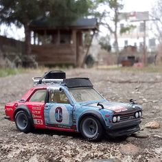 "313 Likes, 9 Comments - Pat Thompson (@100littlecars) on Instagram: ""Custom Hot Wheels Datsun 510 for @rattlecan_customs . #hotwheels #customhotwheels #custompaint…"""