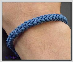 8 plait round knot - picture tutorial #handmade #jewelry #knotting