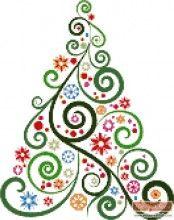 Abstract Christmas tree No2