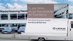Lexus Recruitment-Kampagne