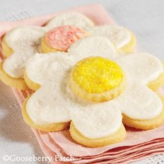 Frosted Sugar Cookies from 101 Homestyle Favorites Cookbook