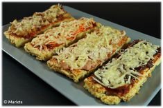 Tofu Dukan, Dukan Diet, Nutrition, Empanadas, Vegetable Pizza, Quiche, Food And Drink, Health Fitness, Healthy Recipes