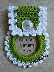 Resultado de imagen para vestido a crochet porta repasador