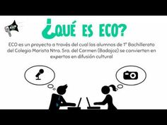 Proyecto ECO es una inicitiva local en pos de la cultura. Creación de Lourdes Cardenal