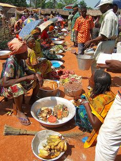Market in Zemio, Central African Republic.  Photo:  Teseum, via Flickr