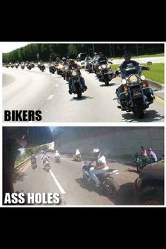 Enough said! #bikerlife #dontbeanasshole #ChopperExchange #bikerhumor