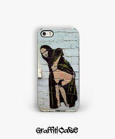 Mona Lisa Banksy iPhone Case - Banksy iphone 5 case - Graffiti street art - iphone 4s case