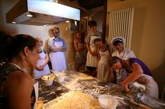 Pasta for all guests! Chianti Wine, Italian Pasta, Tortellini, Cooking Classes, How To Cook Pasta