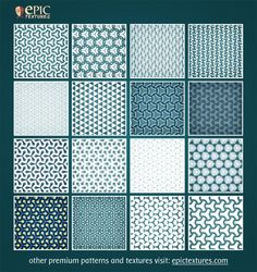 Nice 16 Photoshop Blue Patterns v.2. This pack contains 16 photoshop dark blue patterns for your great projects. + folder with images of the these patterns. I hope you like it these blue patterns. ----------------------------------------------------------- For other premium patterns and textures visit: epictextures.com  #abstract #blue #design #grid #illusion #pattern #patterns #photoshop #pixel #pixels Check more at http://psdfinder.com/patterns/16-photoshop-blue-patterns-v-2