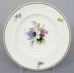 KPM Berlin Teller / Brotteller mit bunter Blumenmalerei, D= 16,5cm #3 in Antiquitäten & Kunst, Porzellan & Keramik, Porzellan | eBay