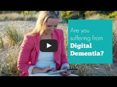 "Dr Kristy Goodwin explains the concept of ""digital dementia"" and shares six simple strategies for preventing digital dementia. Dementia, Technology, Learning, Digital, Health, Tech, Health Care, Studying, Tecnologia"