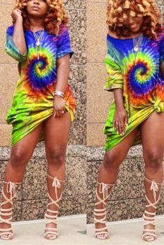 US$ 14.49 US$ 20.70 Blue Fashion, Fashion Outfits, Women's Fashion, Camouflage Fashion, Knot Dress, Two Piece Outfit, Orange Dress, Fashion Boutique, Blue Dresses