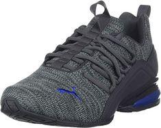 Amazing offer on PUMA Men's Axelion Sneaker online - Premiumtopstyle Puma Sports Shoes, Mens Puma Shoes, Puma Mens, Pumas Shoes, Men's Shoes, Minimalist Shoes, Hiking Shoes, Leather Sandals, Leather Men