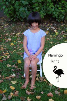 101 reasons to sew: Flamingo Print