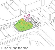 MVRDV plans 'marble arch hill' for the corner of london's hyde park Hyde Park, London, Infographic, Shopping Street, Kids Rugs, Oxford Street, New Perspective, Gallery, Design