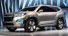 Dieses ist Subaru Neue Viziv-7 Mid-Size SUV Konzept und es Rivals VW-Atlas Concepts Featured LA Auto Show New Cars Subaru Subaru Concepts