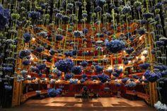 Spectaculaire bloemen installaties