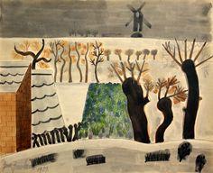 lawrenceleemagnuson:  Jean Brusselmans (Belgium 1884-1953)Winter in Brabant (1939)